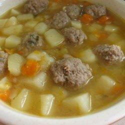 Norwegian Potato Soup recipe