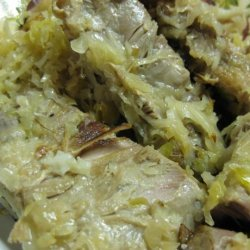 Spare Ribs With Sauerkraut recipe