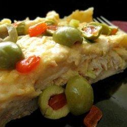 Creamy Chicken Enchilada Casserole recipe