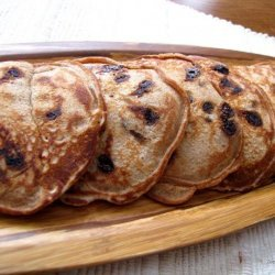 Spiced Chocolate Chip Pancakes recipe
