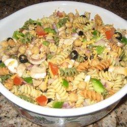 Easy Tri-Color Pasta Salad recipe