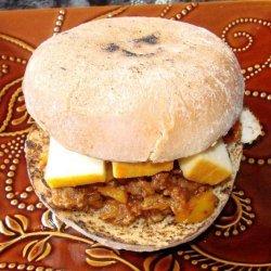 Hawaiian Sweet and Tangy Sloppy Joe's recipe