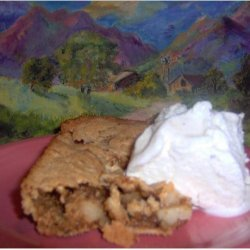 Apple Nut Crunch with Ice Cream recipe