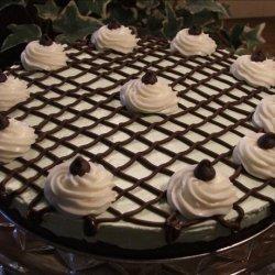 Mint Brownie Tart recipe