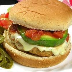 Ground Chicken Taco Burgers recipe