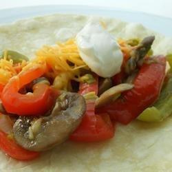 Veggie Fajitas recipe