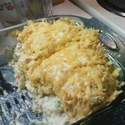 Veggie Chicken Rice Casserole recipe