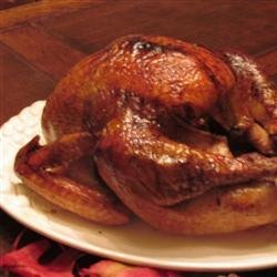 Herb-Glazed Roasted Turkey recipe