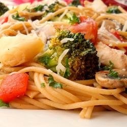 Pasta, Chicken and Artichokes recipe