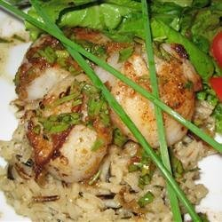 Tarragon Lover's Scallops recipe
