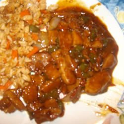 Honey Pork Oriental recipe