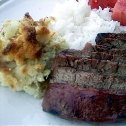 Teriyaki Rib Eye Steaks recipe