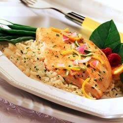 Citrus Chicken and Rice recipe