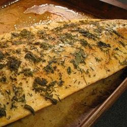 Herbed Salmon recipe