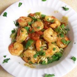 Caribbean Pasta with Shrimp recipe