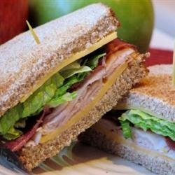 Amy's Triple Decker Turkey Bacon Sandwich recipe
