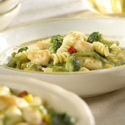 2-Step Creamy Chicken and Pasta recipe