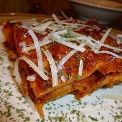 Sausage and Zucchini Lasagna recipe