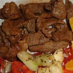 Spicy Flank Steak recipe