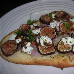 Fig and Goat Cheese Pizza recipe