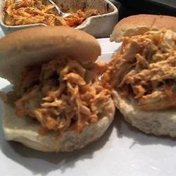 Buffalo Chicken Sliders recipe