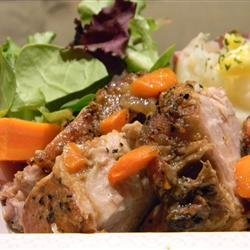 Slow Cooker Cider Pork Roast recipe