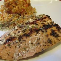 Sugar Glazed Salmon recipe