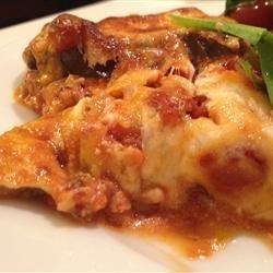 Eggplant and Goat Cheese Lasagna recipe