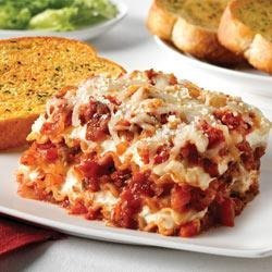 Sausage and Peppers Lasagna recipe