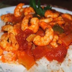 Shrimp Creole III recipe