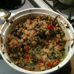 Spinach Veggie Casserole recipe