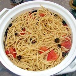 Spaghetti Salad I recipe