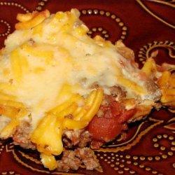 Cheddar Macaroni Beef Casserole recipe