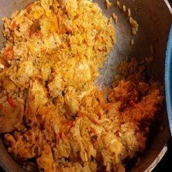 Arroz Con Pollo (Dominican Style Chicken & Rice) recipe