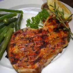 Grilled Chicken Legs with Lemon and Pepper recipe