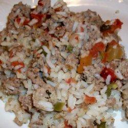 Cajun Turkey Chow Mein recipe