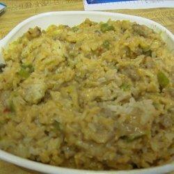 Sausage and Rice Pilaf recipe