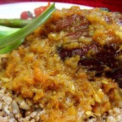 Orange Braised Lamb Shanks recipe