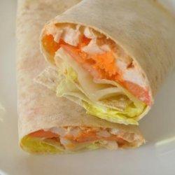 Dijon Chicken and Salad Wrap (21 Day Wonder Diet: Day 1) recipe