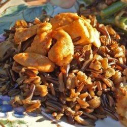 Wild Rice With Spicy Pecans recipe