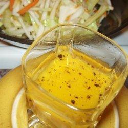 Peasant Turnip Slaw With Sweet Hot Mustard Dressing recipe