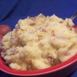 Mashed Red Potatoes With Horseradish recipe