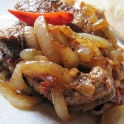 Ethiopian Sauteed Lamb or Beef recipe