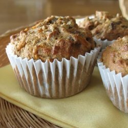 Low Fat Morning Glory Muffins recipe