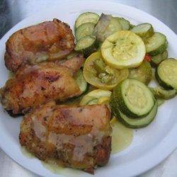 Chicken With Garden Gravy recipe