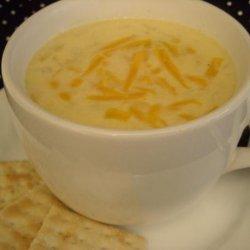 Cheese Onion Soup recipe