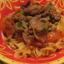 Brazilian Beef and Tomatoes recipe