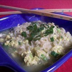 Ramen Noodle Egg Drop Soup recipe