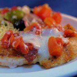 Low Fat Chicken Parmesan Mediterranean recipe