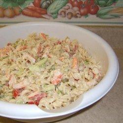 Low Cal Shrimp Pasta recipe